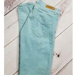 3/$30 Zara core denim teal denim jeans